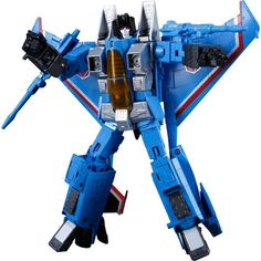 ToyzMag.com » Transformers Masterpiece MP-11T Thundercracker repaint