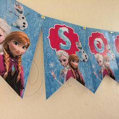 Banderines para Sofia #Frozen