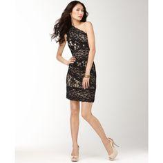pretty lace cocktail dress!