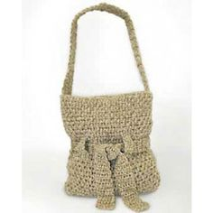 Mary Maxim crochet bag - free pattern