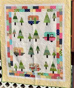 quilt PDFquilt pattern camper