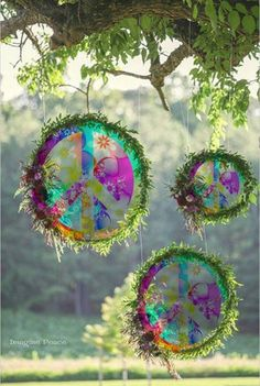 Image result for hippie garden party decor