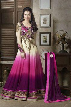 Catchy Shraddha Kapoor Anarkali Salwar Suit