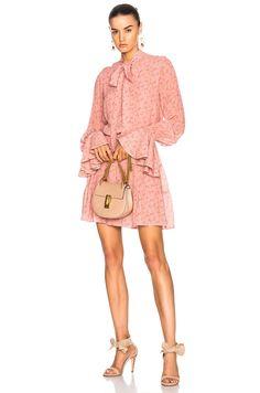 6c9568e70cd8 Image 1 of Alexis Elizavetta Dress in Pink Floral Topfashion