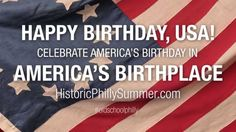 Happy 4th from Philadelphia! I always miss Philly so much on the 4th of July!!  Brenda