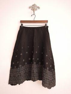 リゼッタ Lisette リネン刺繍スカート