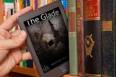 A friend and colleague on Facebook, Monica F. Brown Martinez, posted this picture of my second book -- The Glade -- on her FB page. I love it! So, had to share it here :)