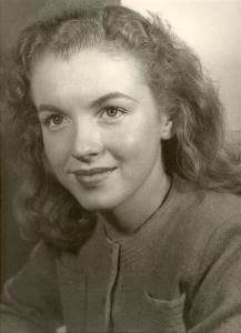 Norma Jeane before becoming Marilyn Monroe
