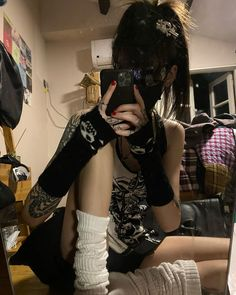 Goth Aesthetic, Aesthetic Clothes, Alternative Outfits, Alternative Fashion, Japanese Fashion, Grunge Fashion, Style Me, Cool Outfits, Style Inspiration