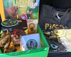 1 Up Box, $12.92 | 15 Wonderfully Nerdy Subscription Boxes Every Culture Vulture Will Adore