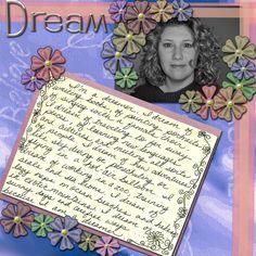 I'm a Dreamer - Scrapbook.com