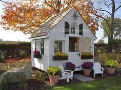 Children's Custom Playhouses by Signe's Little Houses