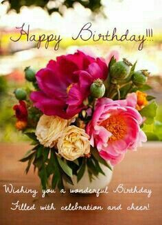 A collection of beautiful birthday wishes, warm greetings, sweet happy birthday congratulations and amazing images with greeting words. Meaningful Birthday Wishes, Beautiful Birthday Wishes, Birthday Wishes Flowers, Happy Birthday Wishes Images, Happy Birthday Pictures, Birthday Blessings, Happy Birthday Greetings, Blessed Birthday Wishes, Meaningful Sayings