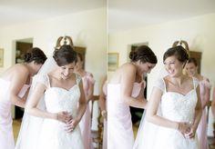 Elizabeth. Bridal hair, bridal updo, curls, wedding hair, wedding makeup, lace, classic, cap sleeve wedding gown, Make Me Fabulous  © Matt Ramos Photography