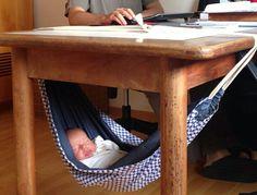 Rede para bebê,  tranquilidade e conforto www.ateliecolorir.com.br                                                                                                                                                     Mais