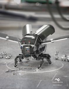 run2damoon:  Beetle Mech by  Ryo Yambe