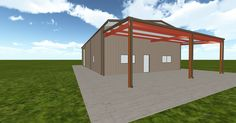 Cool 3D #marketing http://ift.tt/2ifbL9c #barn #workshop #greenhouse #garage #roofing #DIY