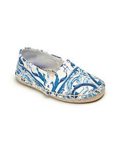 Dolce & Gabbana - Kid's Printed Espadrille Flats