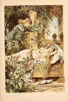 Cuentos de hadas de Grim.(1893) - La bella durmiente