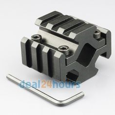 New Barrel Mounting Accessory Mount for Rifles Picatinny Weaver 3 slot 4 Quad Rails for Scopes Free Shipping