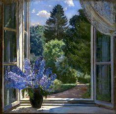View from a Window Stanislav Zhukovsky - 1936