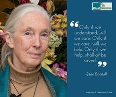 Jane Goodall is a world renowed conservationist, scientist and UN Messenger of Peace. Founder of the Jane Goodall Institute and co- founder of Roots and Shoots, she inspires us to take informed action and make a difference. Let us Listen! #MotivationMonday #NoCompromise #30YearsofDilmah #inspiration #janegoodall #messengerofpeace #quotes