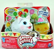 WHITE RAGDOLL Chubby Puppies /& Friends Single Pack