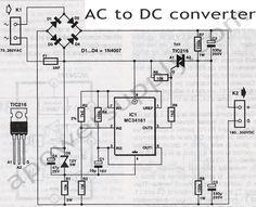 UC3843 Application Circuit Diagram | Power supply circuit ...