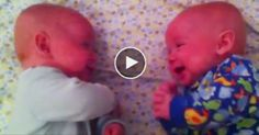 Twins Talking to Each Other