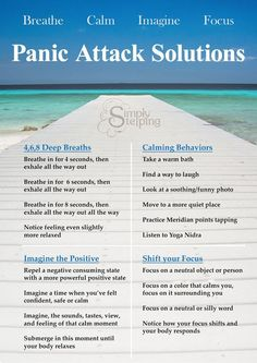 Quick Solutions for Panic Attacks - Simply Stepping