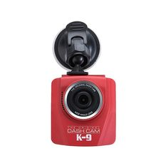 4Sight Compass Full HD Video Vehicle Dash Cam - Red