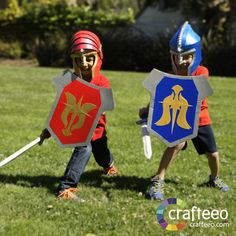 Build your armor set with your kids