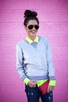 One Sweater, Three Ways with Glitter Guide... - Pink Peonies by Rach Parcell