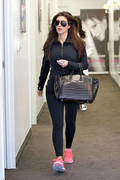 Kim Kardashian   Celebrity-gossip.net  I have those nike shoes!