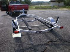 Picture of Make a Pair of Bunk Glides for Your Boat Trailer Make A Boat, Build Your Own Boat, Diy Boat, Jon Boat Trailer, Trailer Plans, Chris Craft Wooden Boats, John Boats, Boating Tips, Boat Restoration