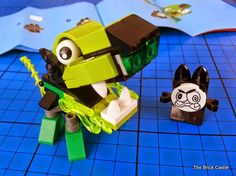 LEGO Mixels Series 3 Review - Glurt 41519 and Nixel