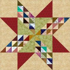 Grab Your Scraps of Fabric to Sew a Colorful Twinkling Star Quilt Block: How to Make Twinkling Star Quilt Blocks