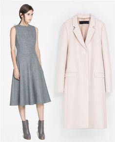Looks inspirados en Jacqueline Kennedy: gris y rosa palo