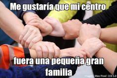 Sueños para mi centro. Alberto Herrero Izquierdo. Holding Hands, Learning, Centre