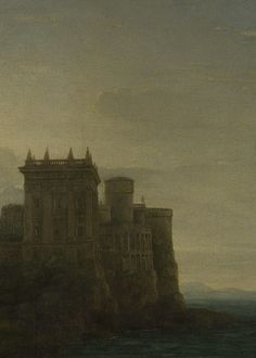 The Enchanted Castle (detail), Claude, 1664