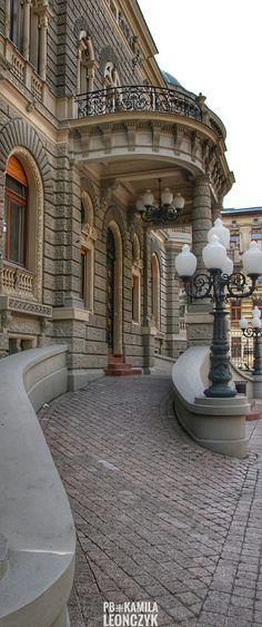 Karol Poznański Palace - Academy of Music in Łódź Poland