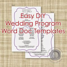 wedding program template 41 free word pdf psd documents download free premium templates happily ever after pinterest program template - Free Wedding Program Templates Word