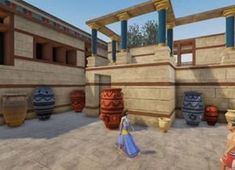 Stunning digital video of Knossos' Palace and the Minoans Knossos Palace, Greek Beauty, Greek History, Creta, Minoan, Education, Geography, Homework, School