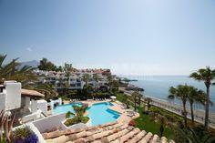 Duplex Penthouse Right on the Sea - Duplex Penthouse, Ventura del Mar, Marbella - Puerto Banus Marbella Puerto Banus, Penthouse For Sale, Dolores Park, Sea, Travel, Del Mar, Viajes, The Ocean, Destinations