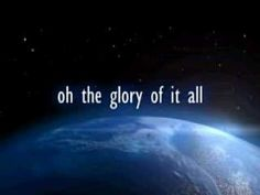 ▶ David Crowder - Glory of it all - YouTube