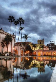 Balboa Park, El Prado, San Diego, California, USA