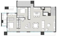 絕佳高樓層景致!新北 40 坪 Loft 風親子宅 - DECOmyplace 新聞 Villa Design, House Design, Weekend House, Building Plans, Future House, Designer, House Plans, Floor Plans, Layout
