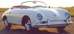 """Porsche Speedster with """"Rudge"""" wheels!"""