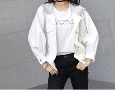 L8711 Denim Jacket 2017 Women Fall And Winter Wash White Hood Short Damagejean Coats Plus Size Stocks - Buy Denim Jacket 2017,Loose Denim Jacket,Female Jacket Product on Alibaba.com