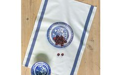 Life's a bowl of cherries! Bring a new dimension to your kitchen with our own design trompe l'oeil cherry print tea towel in cotton. Cherries, Tea Towels, Kitchenware, Georgian, Blog, Christmas, Design, House, Maraschino Cherries
